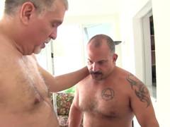 A Great Baraback Daddy Orgy  scene 2