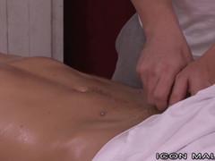 Teen Cutie Offered Full Release Massage by Old Man