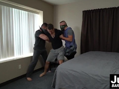 Sexy Aston and Dante get their assholes barebacked deeply