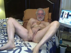 Grandpa play on webcam  scene 2