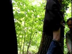 Podryw w lesie 32