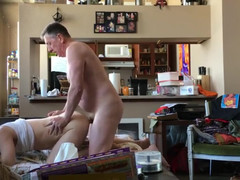 You man face pounded then gets sperm dumped in his butt
