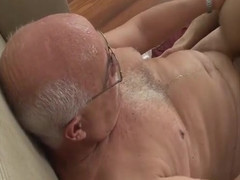 The 65-year-old doctor comes home after working hard