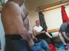 Daddies in locker room  scene 2