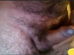 Argentinian haired dad in hotel masturbating