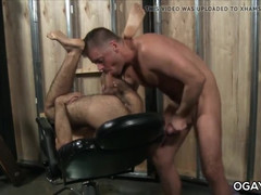 Jerk sucks butthole jacob's hairy butt as well in the