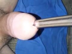 Urethra sounding ball busting