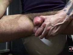 Jacking my dick watching porn videos