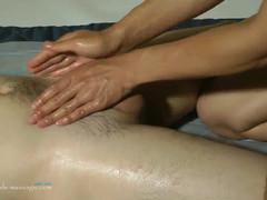 Asiatic naked massage