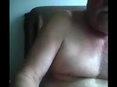 Daddy seed on webcam