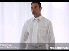 Mormon stud has sex with mormon jock