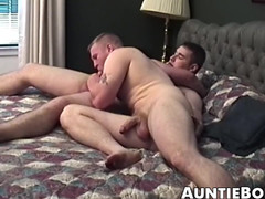Some great amateurish action by a pair of enormous and thrilled men