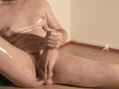 Sizable pecker edging climax 179
