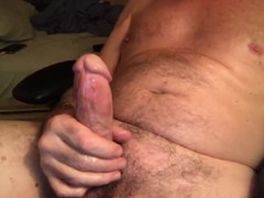Sexy vocal pappy shoots a mammoth creamy load