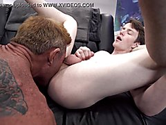 Familydick - stepdad hammers his boy's butt-hole during a nostalgic bonding moment