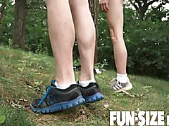 Funsizeboys - tiny austin teenage pounded without condoms in military bootcamp 3-way