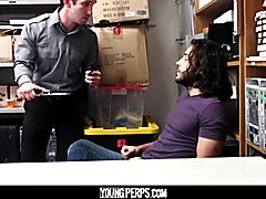 Youngperps - appealing guard fucks lucky long-hairy dude