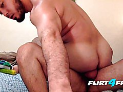 Angel & max on flirt4free guys - sexy latinos without condoms and felch