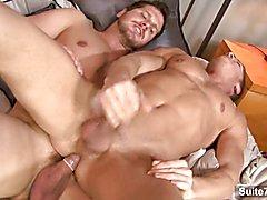 Awesome gays fucking hard  scene 2