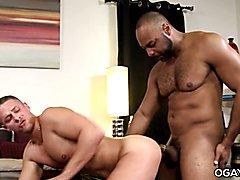 Interracial gay couple  scene 2