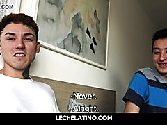 Hunky latino males condomless reality gay sex for cash-lechelatino.com