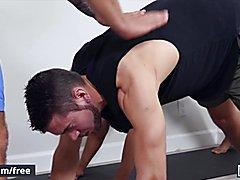 (dante colle, vadim chocolate) - power yoga condomless -