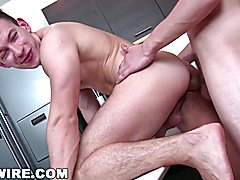 Gaywire - sexy studs raw hammering, what a beauty!