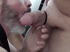 My old man group suck and masturbate pecker party