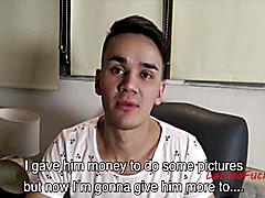 Latino studs make 1 month salary to fuck on camera - pov latin gay