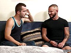 Bareback gay triple