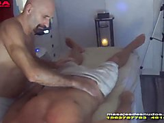 Colossal pecker massage and relaxing oral by nudemassage