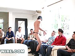 Gaywire it's a sausage party and these giant pecker male strippers are gonna show