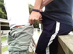 Treinador fodendo seu jogador depois do treino