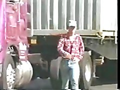 A vintage vid of a couple of truckers with huge cocks.