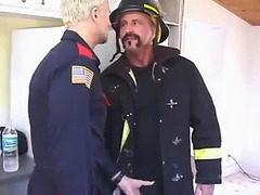 Firemen have anal sex