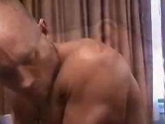 Adventurous gay anal play