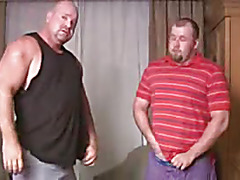 Big men suck and stroke