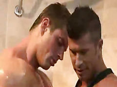 Insanely hot muscular guys fuck