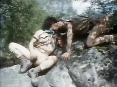 The vintage gay video is a camping trip with the scouts