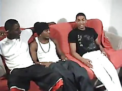 For 50 minutes they have incredible gay black sex on the couch. They explore everything, inc...