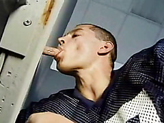 Oral sex after football practice