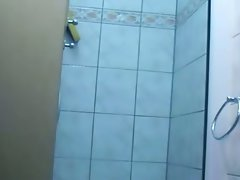 Voyeur videos of my hung young Brother`s friend in the shower