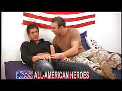 Military guy gets topped