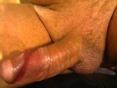 Slick cock is hot