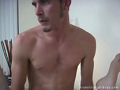 Cute boy fucked missionary style