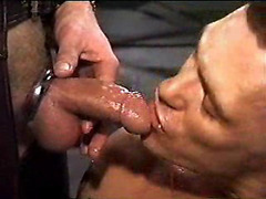 Gay fetish pissing and leather anal