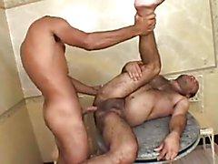 Brasilian Chubby Bear Taking Hard Dick Deep Inside