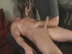 Stud Gets A Massage