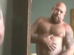 Chub Daddy Blows A Load
