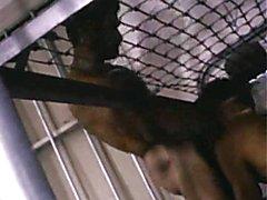 Prison sex threesome sizzles